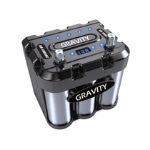 Capacitor Gravity 1000 A Bateria Carro Con Led