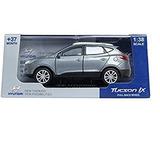 Plata Pino B Y D De Hyundai Tucson Ix 138 Diecast Visualiza