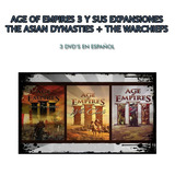 Age Of Empires 3 + Warchiefs + Asyan Dynasties (3 Dvds)
