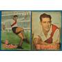 Lote X2 River Plate 1953 1955 Sivori Labruna N 1778 1877