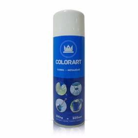 Tinta Spray Branco Metalico 300ml Perolizado