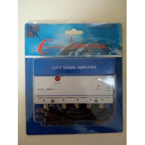 Amplificador De Señal Modelo 76bav54 Tv Catv 4 Salidas