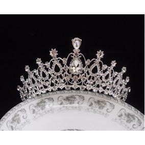 Tiara Coroa Luxo Princesa Noiva Debutante