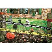 Cintas De Seguridad Decoración Halloween