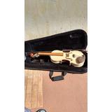 Violino Antigo Para Restauração, Conservado E Com As Peças.