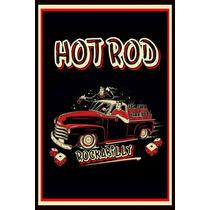 Carteles Antiguos Chapa 60x40cm Rockabilly Hot Rod Au-514