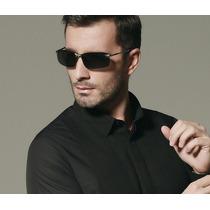 Óculos Escuros Polarizado Masculino Esportivo Metal