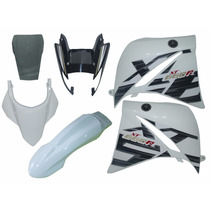 Kit Carenagem Xt660 Branca 2015 2016 2017 Completo C/ Bolha