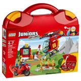 Lego Juniors Maletín De Bomberos Niño Niños Armar Juguete