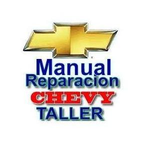Manual De Taller Chevy 1.4, 1.6, Tbi Y Mpfi (pdf)