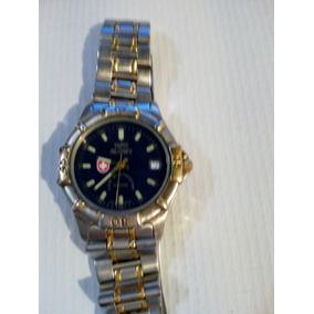 Swiss Military Color Azul Y Acero Reloj De Caballero