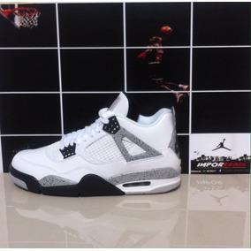 Nike Air Jordan 4 White & Cement
