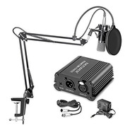 Micrófono Profesional Neewer Nw-700 + Kit + Phantom Power