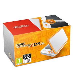 Console Nintendo New 2ds Xl Branco E Laranja