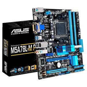 Motherboard Amd Asus M5a78l-m Plus Am3+ Usb3 - Envio 2