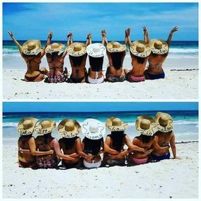 Sombreros De Playa Personalizados.. Viajes, Despedidas..