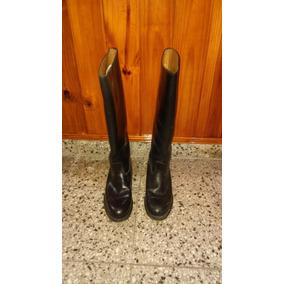 Botas De Montar De Hombre Caña Alta Cuero Genuino Talle 42