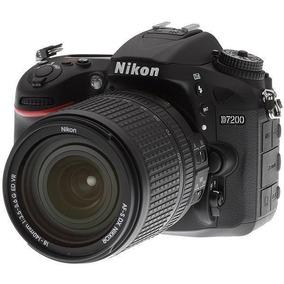 Câmera Nikon D7200 Kit Af-s Dx Nikkor 18-140mm Vr