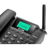Telefone Celular Fixo Elgin Gsm200 Dual Sim Preto