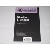 Direito Eleitoral - Coleção Sinopses P/concursos - 40 - 2011