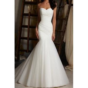 Vestido Noiva Sereia Casamento Lindo Pronta Entrega