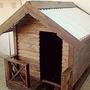 Casa Para Perros Grandes De Madera