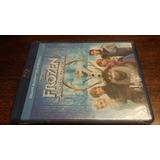 Blu Ray Nuevo Original - Frozen Una Aventura Congelada