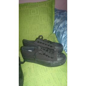 Zapatos Negros Deportivos Talla 37