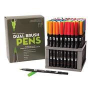 Tombow Dual, Brush Pen , Conjunto De 95 Colores Y 1 Blender.