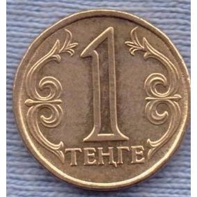 Kazakhstan 1 Tenge 2000 * Emblema Nacional * Republica *