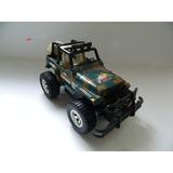 Carro Rádio Controle Jeep Militar 1:14 - Restaurar