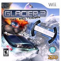 Wii Glacier: The Meltdown 3 Zoo\ Jogo + Volante Customizado