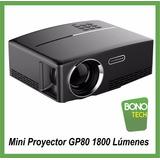 Mini Proyector Gp80 Full Hd 1800lumenes Envios