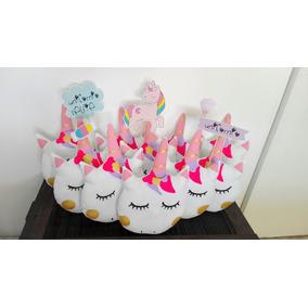 Almohadon Unicornios Regalo Souvenirs! Somos Fabricantes