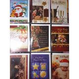 Cartão De Natal Kit C/27 Cartões Comemorativos De Natal