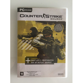 Counter Strike Source Dvd Original Para Pc Espc Colecionador