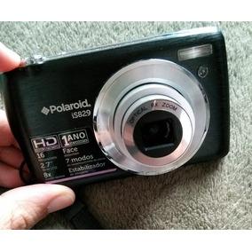 Câmera Digital Polaroid Filma Em Hd 16mp Cartão 4 Gb