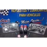 Faros Para Bronco/f-150/f-350 Ojo De Gato 93-98