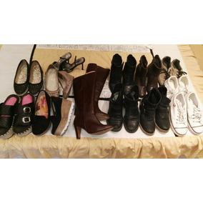 Lote Zapatos, Botas, Zapatillas Mujer 36