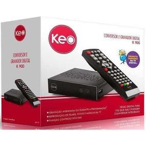 Conversor Tv Digital K900 Sinal Digital Baixou 5% Desconto