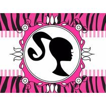 Kit Imprimible Barbie Barbie Silueta + Candy