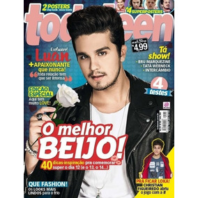 Revista Todateen 235 Luan Santana 6 Posters Harry Styles Fly