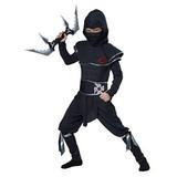 Disfarz Niño Disfraces California Ninja Warrior Traje De Ni