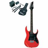 Combo Guitarra Electrica Ibanez Profesional Ijrg200n Rd Roja