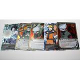 Set 5 Cartas Exclusivas Manga Shonen Jump Naruto Shippuden