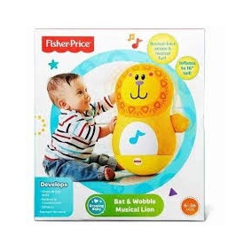 Leon Inflable Actividades Y Sonido Fisher Price