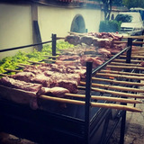 Carne En Vara El Tambor Chino Parrillera Pollo Asado Ahumado