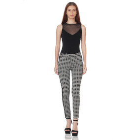 Pantalón Skinny De Mujer Aishop Aw171-h10165mi0 Negro