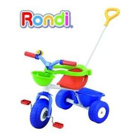 Triciclo De Caño Rondi - Blue Y Pink - Metal