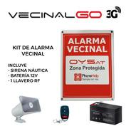 Kit Alarma Vecinal Comunitaria Vecinalgo Conexión 3g